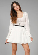 Monroe Dress in Cream