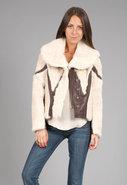 Bunny/Leather Jacket