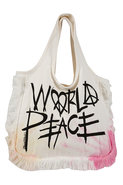 World Peace Fringe Tote in Starburst