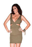 Side Cut Out Dress in 2 Colors