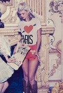 I Love Paris Mini Tee in 2 colors