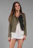 Aurore Jacket in Army Green