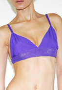 Chiffon Bra in Purple