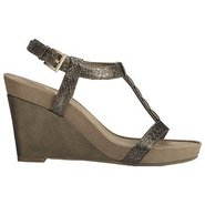 Rose Plush Sandals (Pewter Combo) - Women's Sandal