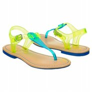 Flynn Tod/Pre/Grd Sandals (Blue/Green) - Kids&#39; San