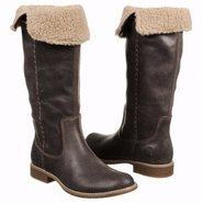 Shoreham Tall Fold Dow Boots (Dark Brown Suede) -