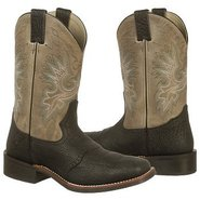 Western Roper Boots (Black/Cool Grey) - Men's Boot
