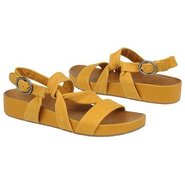 Brittany Sandals (Hot Mustard Nubuck) - Women's Sa
