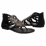 Arabian Sandals (Black Suede) - Women's Sandals -