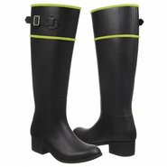 Prep Boots (Black/Lime) - Women's Boots - 9.0 M
