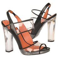 Clair Shoes (Clear/Black) - Women's Shoes - 8.5 M