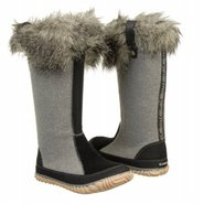 Cozy Cate Boots (Light Grey) - Women's Boots - 9.0