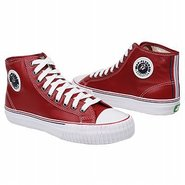 Center Hi Shoes (Red) - Men's Shoes - 9.0 D