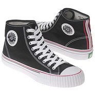 Center Hi Shoes (Black/White/Red) - Men&#39;s Shoes - 