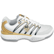 Bigshot Shoes (Wht/Blk/Gld) - Women's Shoes - 7.0