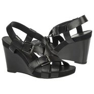 Hallie Sandals (Black Leather) - Women's Sandals -