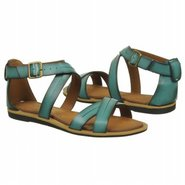 Billie Jazz Sandals (Teal Leather) - Women's Sanda