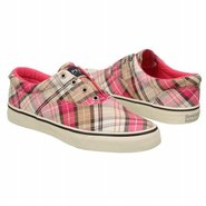 Striper Shoes (Pink Plaid) - Women&#39;s Shoes - 6.5 M
