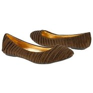 Satin Shoes (Brown) - Women&#39;s Shoes - 6.0 M