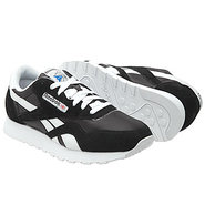 Classic Nylon Shoes (Black/White) - Men's Shoes -
