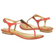 Bali Sandals (Coral Leather) - Women's Sandals - 6