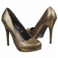 Love Me Metallic Shoes (Gold) - Women's Shoes - 6.