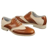 Ellington Wing Tip Shoes (Tan/Linen) - Men's Shoes