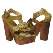 Fanny Shoes (Green Burnished) - Women&#39;s Shoes - 8.