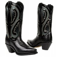 Canyon Boots (Black Nappa) - Women's Boots - 9.5 M
