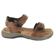 Regan Sandals (Cognac Smooth) - Men&#39;s Sandals - 12