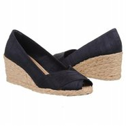 Cecilia Sandals (Dark Navy Shantung) - Women's San