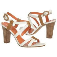 Ruslana Sandals (White/Camel) - Women's Sandals -