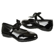 Bowtina Tod/Pre Shoes (Black Patent Pu) - Kids' Sh