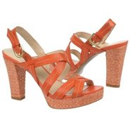 Indira Shoes (Orange Leather) - Women&#39;s Shoes - 7.