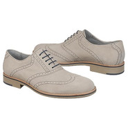Ellington Wing Tip Shoes (White) - Men's Shoes - 8
