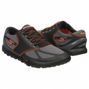 Go Trail Shoes (Charcoal/Orange) - Men's Shoes - 1