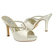 TATIANA Shoes (White) - Women's Wedding Shoes - 7.
