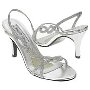 Randi Shoes (Silver Glitter) - Women's Wedding Sho
