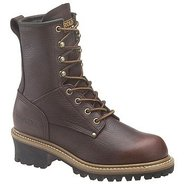 Logger Boots (Dark Brown) - Women&#39;s Boots - 8.5 W