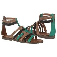 Zamira Sandals (Kelly Green/Brn/Blk) - Women's San