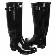 Huntress Wide Calf Boots (Black Gloss) - Women's R