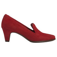 Red Carpet Shoes (Dk Red Suede) - Women's Shoes -