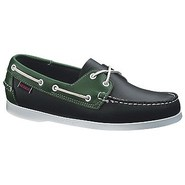 Spinnaker Shoes (Navy/Green) - Men's Shoes - 8.5 W