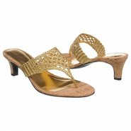 Nalena Sandals (Gold Leather) - Women&#39;s Sandals - 