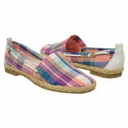 Feriel Shoes (Blue Multi Plaid) - Women's Shoes -