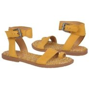 Zenobia Sandals (Hot Mustard Nubuck) - Women's San