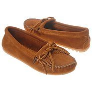Kilty Suede Moc Shoes (Brown Suede) - Women's Shoe