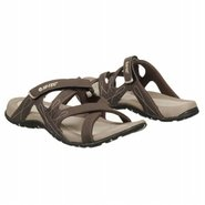Waimea Slide Sandals (Chocolate/Lt Taupe) - Women'