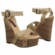 Cher Sandals (Taupe Leather) - Women's Sandals - 8
