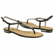 Reno Sandals (Black Leather) - Women's Sandals - 8